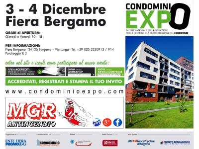 L'antincendio a Condominio Expo 2015 di Bergamo