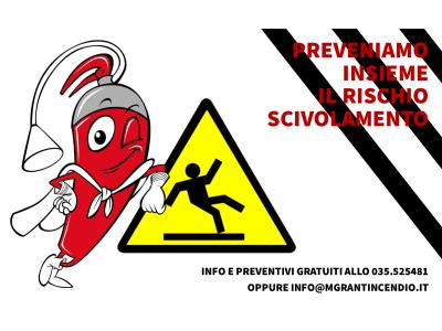 Prevenire Scivolamenti Con MGR Antincendio
