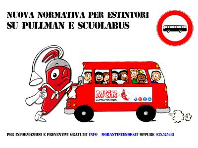Nuova Normativa Per Estintori Su Pullman E Scuolabus
