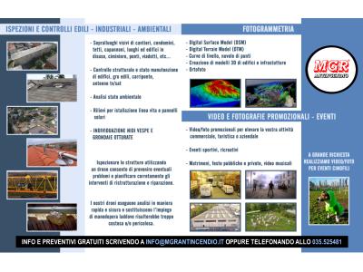 Droni MGR Antincendio Per Ispezioni E Fotogrammetria
