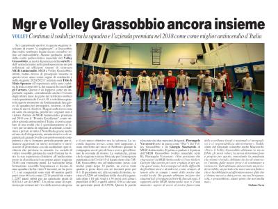 MGR E Volley Grassobbio Ancora Insieme