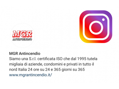 MGR Antincendio Su Instagram