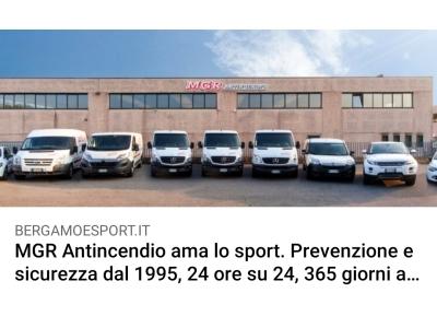 Bergamo & Sport Racconta MGR Antincendio