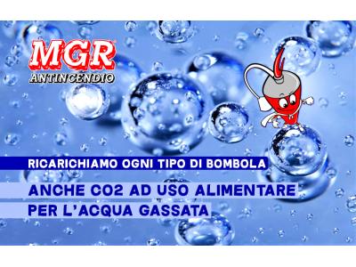Bombole C02 MGR Antincendio