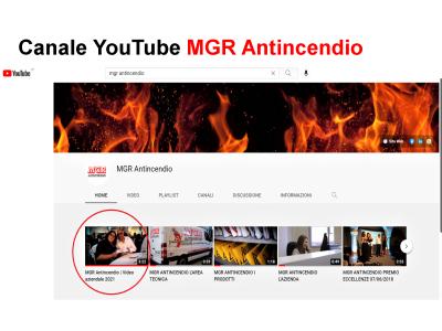 Video Aziendale MGR Antincendio